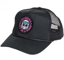 Subrosa x Radical Rick No Wimps Snapback Hat BLACK