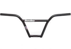 "9.5"" Sunday 4-pc Street Sweeper bar BLACK"