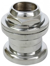 "1"" threaded headset CHROME (for 26.4mm crown)"
