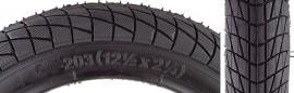 "12"" Sunlite Kontact tires (Set of 2 tires) BLACK"