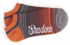 Shadow Conspiracy Cuervo Hidden Socks Red Grey