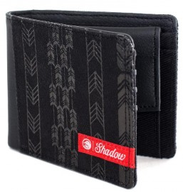 Shadow Conspiracy Feather bifold wallet BLACK