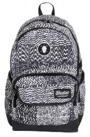 Shadow Conspiracy Static Backpack BLACK / WHITE
