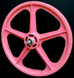 """PINK 20"""" Skyway TUFF WHEEL II SET- Freewheel"""