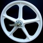 "WHITE 20"" Skyway TUFF WHEEL II SET- Coaster Brake"