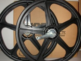 "BLACK 20"" Skyway TUFF WHEEL II SET- Coaster Brake"