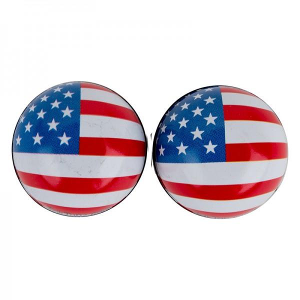 Trik Topz USA Flag Stars and Stripes Ball Valve Caps
