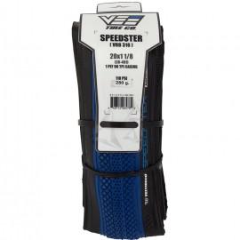 """20"""" Vee Speedster 1-1/8"""" tire BLUE w/ BLACK sidewall"""
