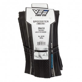 "26"" Vee Speedster 2.0"" tire BLACK w/ Reflective Stripe"