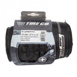 """27.5"""" x 2.8"""" Vee T FATTY folding tire BLACK (OM DURO TIRE)"""