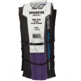 "20"" Vee Speedster 1-3/8"" tire PURPLE w/ BLACK sidewall"