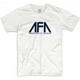 AFA American Freestyle Association T-shirt WHITE