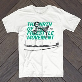 Mike Dominguez / Birth Of Freestyle Launch T-shirt WHITE