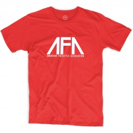 AFA American Freestyle Association T-shirt RED