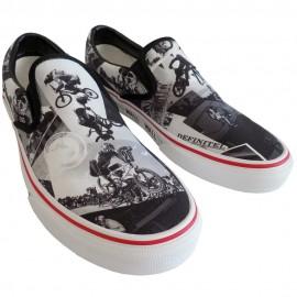 "Vans ""Wall To Wall"" Slip-On Sneakers"