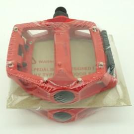 "Xpedo platform pedals 9/16"" RED"