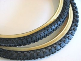 "20"" Cheng Shin Comp III Skinwall tire BLACK in SIZES"