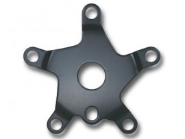 One Piece Crank steel Spider