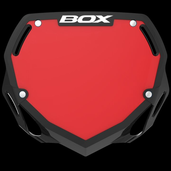 Pick your Size and Color BOX Phase BMX Number Plates
