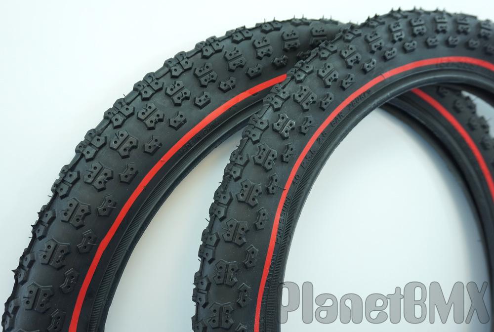 20x1.75 Comp III All Black BMX tire by Kenda