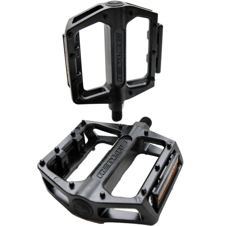 "Redline Alloy Platform Pedals black BMX 9//16/"" 9//16"