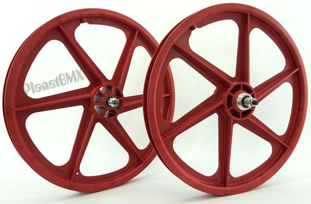 20 Skyway SIX SPOKE Tuff Wheel Set IN COLORS