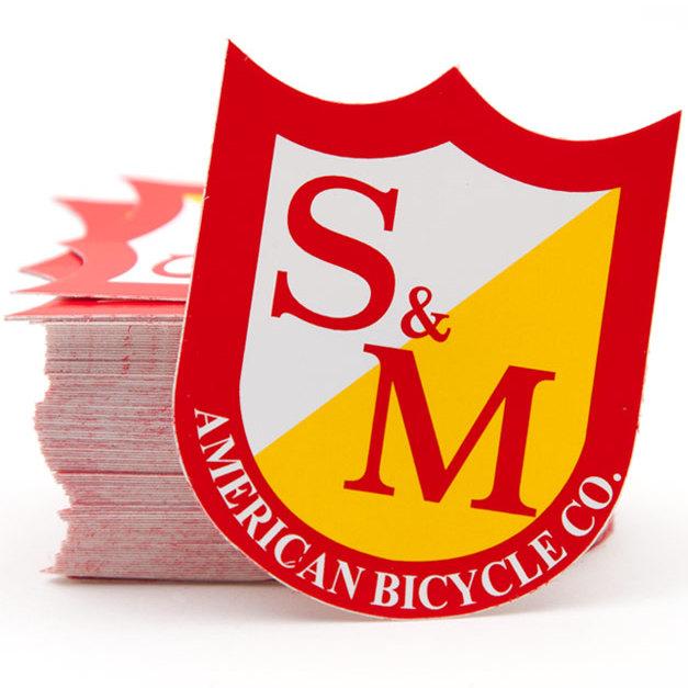 S/&M BICYCLES BMX STICKER