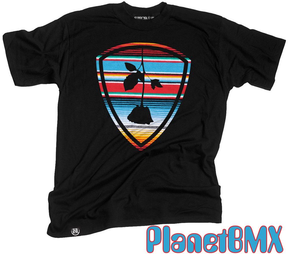 Subrosa Baja Shield t-shirt BLACK - Planet BMX