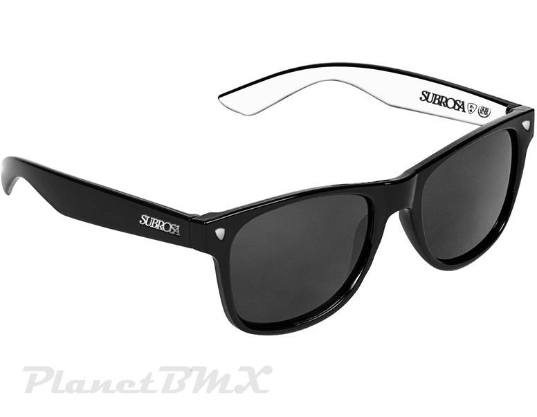 Shades Sunglasses  subrosa icon shades sunglasses black white planet bmx