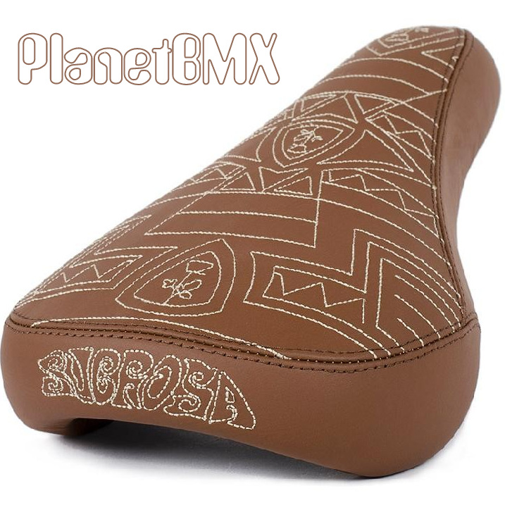 Subrosa Hoang Tran Easy Rider Tri Pod Seat Mid Black Or Brown Leather Planet Bmx